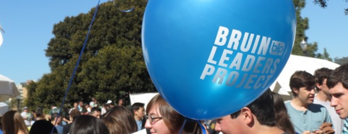 Bruin Leaders Project at the Enormous Activities Fair